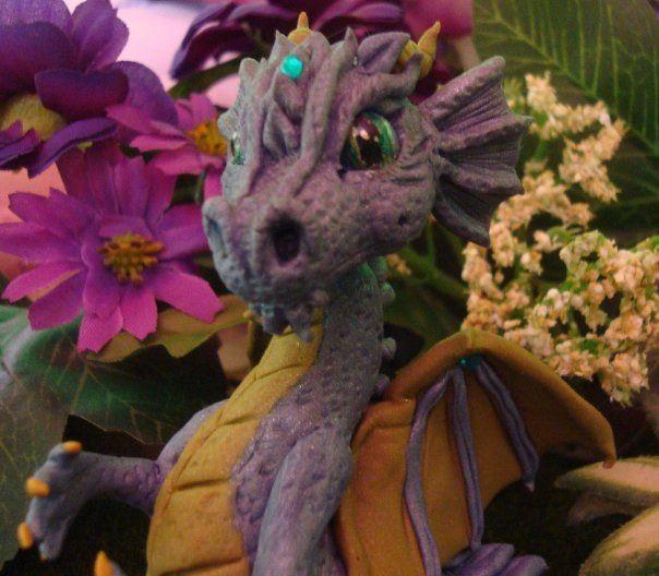 Ooak polymer clay dragon   Crazy little critters   Pinterest ...