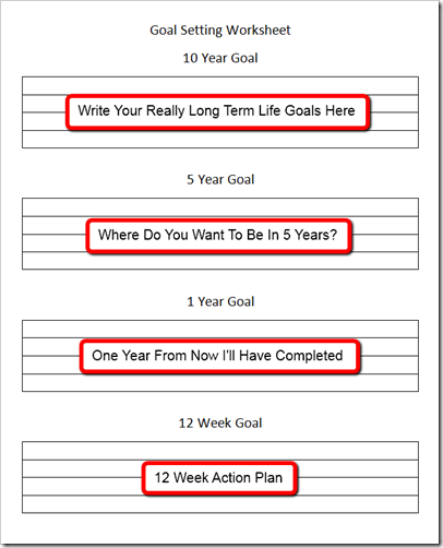 Goal setting template 12 week to ten year goals goal setting goal setting template 12 week to ten year goals goal setting activities goals worksheet ibookread Read Online