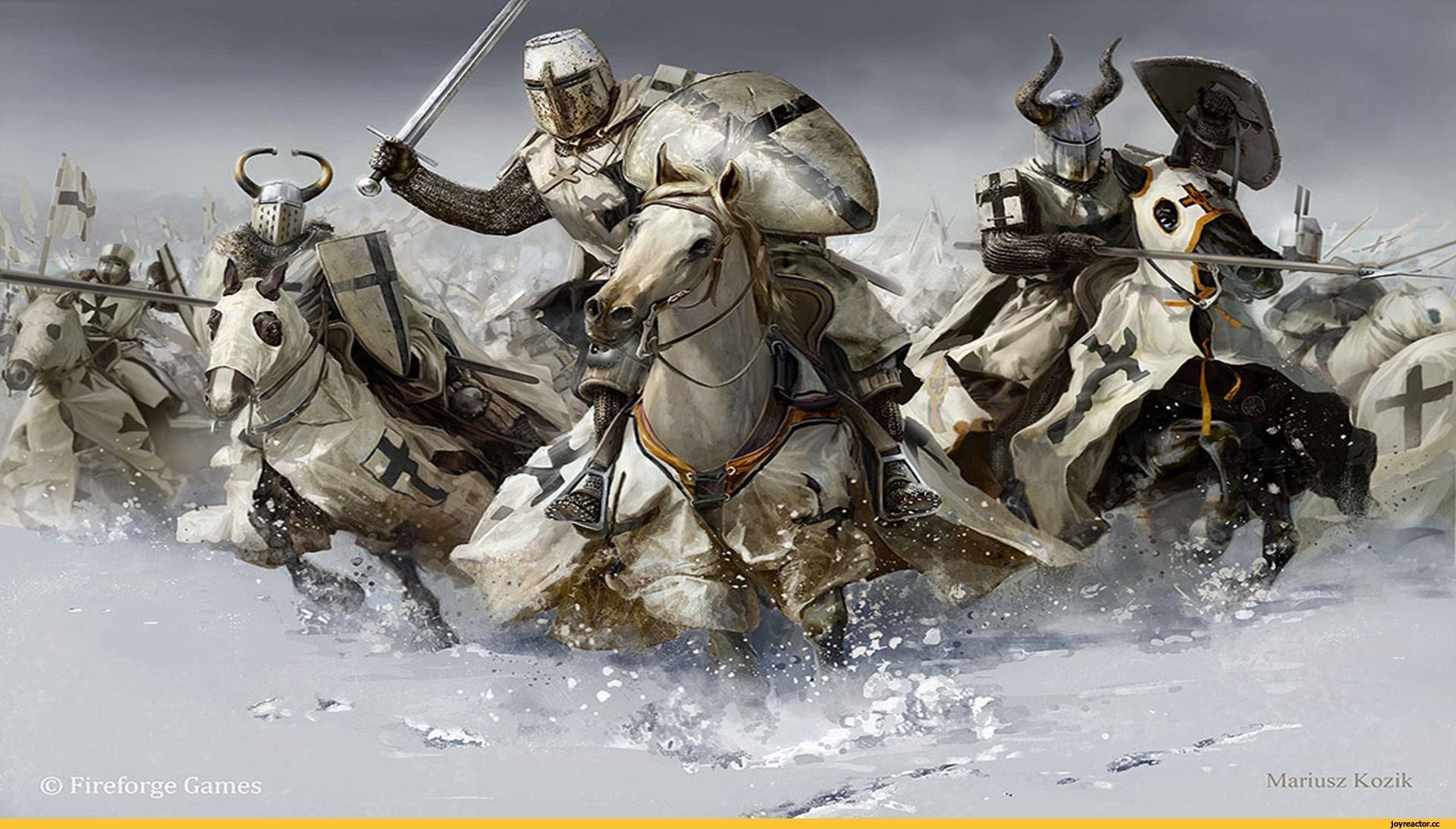 картинки рыцарей средневековья на рабочий стол означает