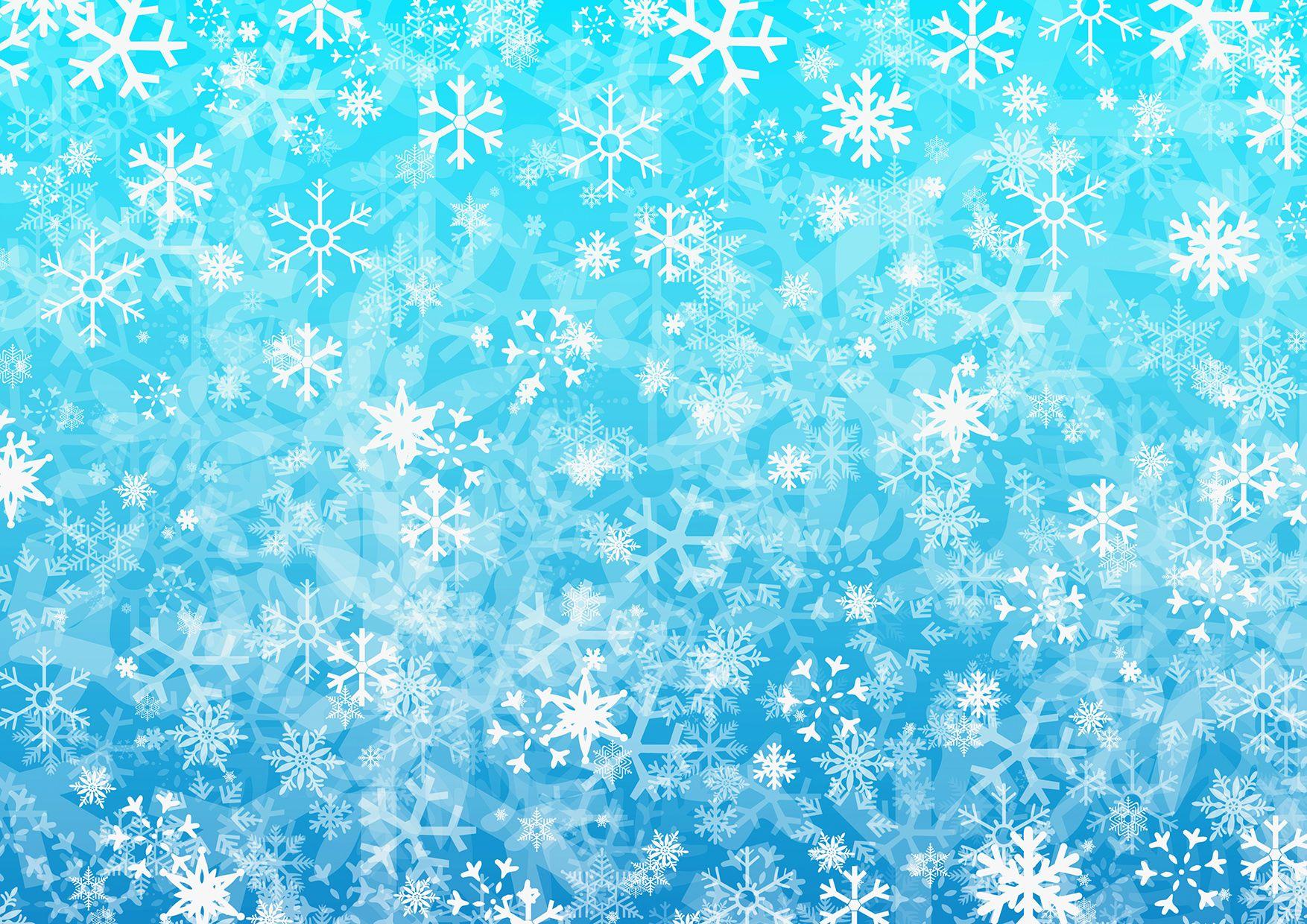 переводе красивая однотонная картинка со снежинками одно самых