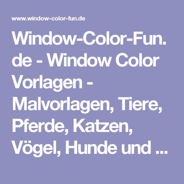 windowcolorfunde  window color vorlagen  malvorlagen