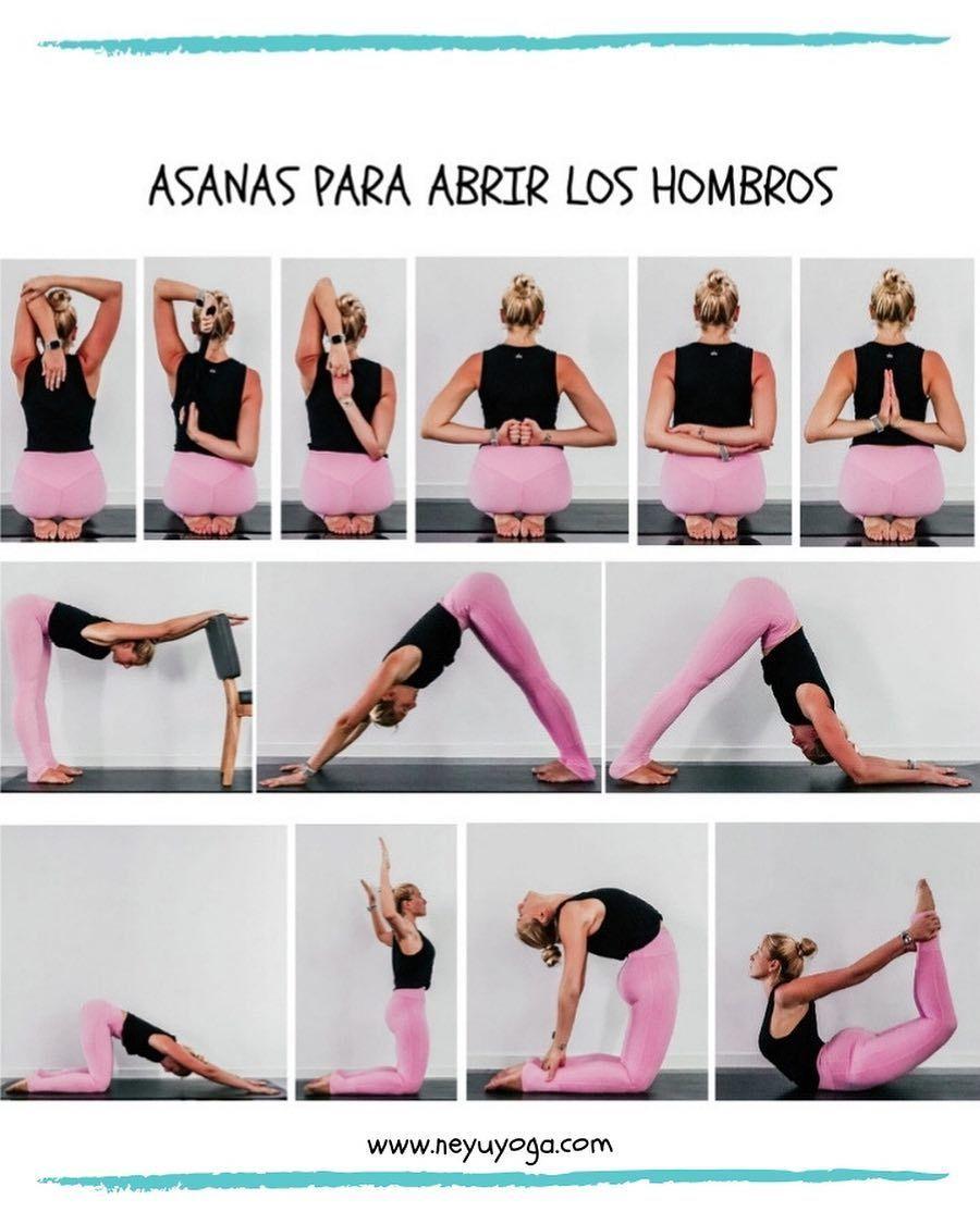 Tutoriales De Yoga On Instagram Estas Posturas Para Abrir Los Hombros Son Ideales Para Al Yoga Posturas Basicas De Yoga Ejercicios De Yoga Para Principiantes