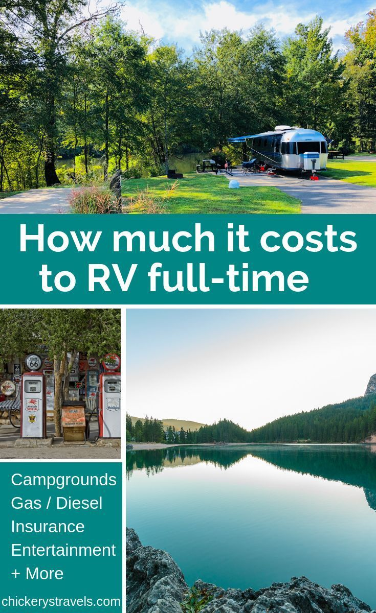 Annual Full-Time RV Expenses (2018) - Chickery's Travels