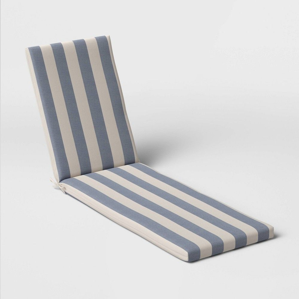 Cabana Stripe Outdoor Chaise Cushion