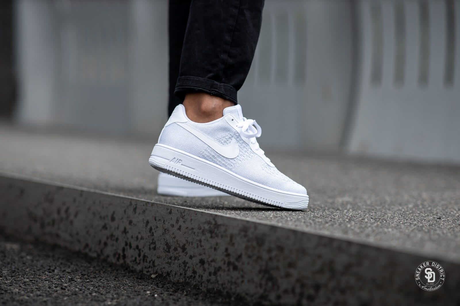 Nike Air Force 1 Flyknit 2.0 WhitePure Platinum AV3042