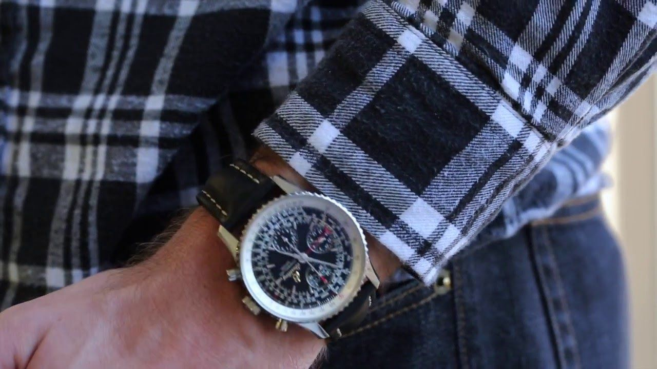 Breitling Montbrillant Datora A21330 | Crown & Caliber Hot Minute with a...