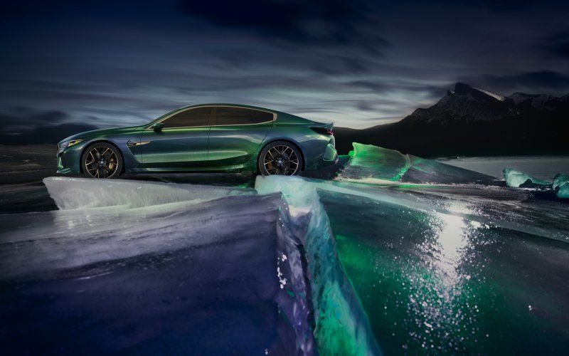 Wallpaper Icebergs Bmw M8 Gran Coupe Luxurious Outdoor 2018