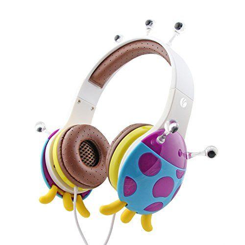 Monster Headphone Headset Flow Music for Kids Safe