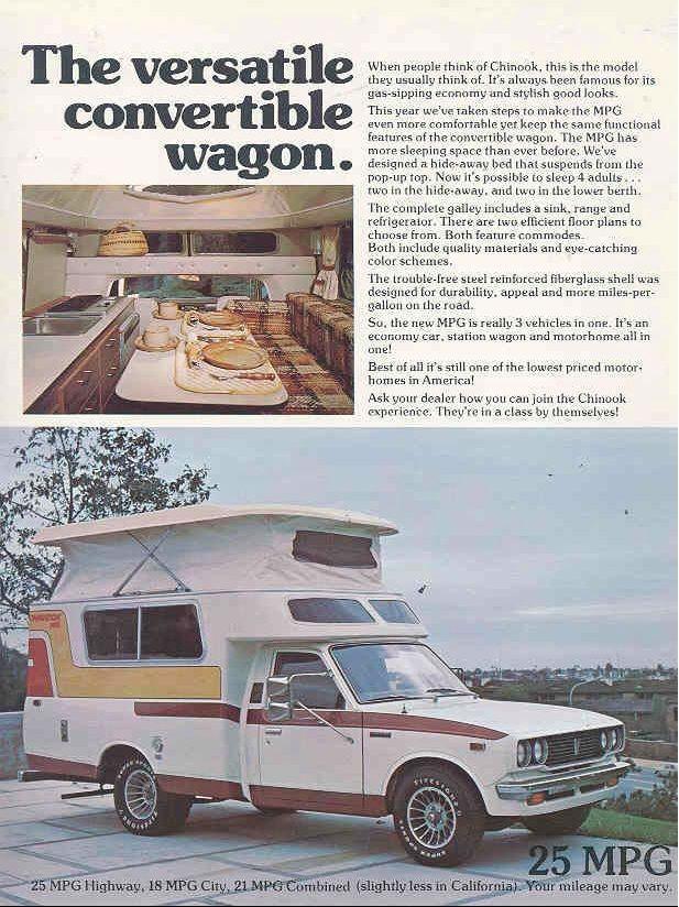 ads Toyota chinook, Toyota, Vintage motorhome
