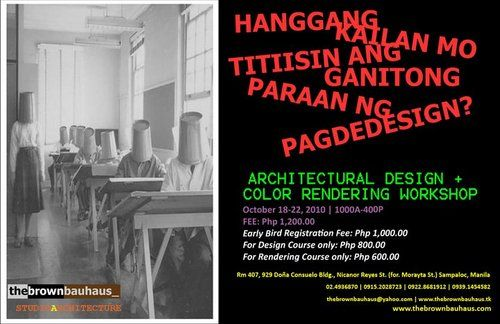 The Brown Bauhaus Review Center For Architecture Board Exam Architectural Workshop