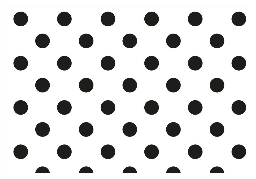 Seamless Black And White Pattern Or Background With Small