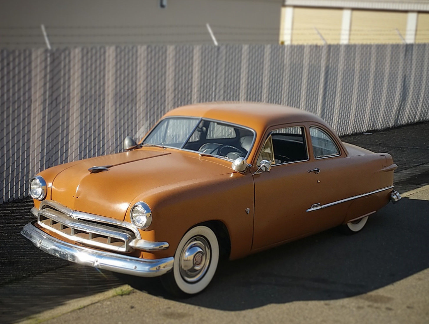 Mild Custom Shoebox 1951 Ford Business Coupe Coupe Ford Shoe Box
