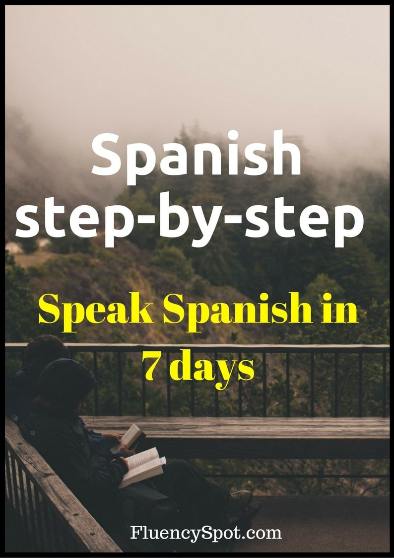 Learn the Spanish #language in just a week  Get this #step