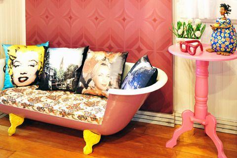 Refurbished Bath Tub Sofa Very Breakfast At Tiffany S Esque I