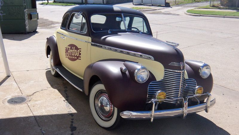 Tbt 1942 Chevrolet Business Coupe Wrapped For Frito Lay Here In
