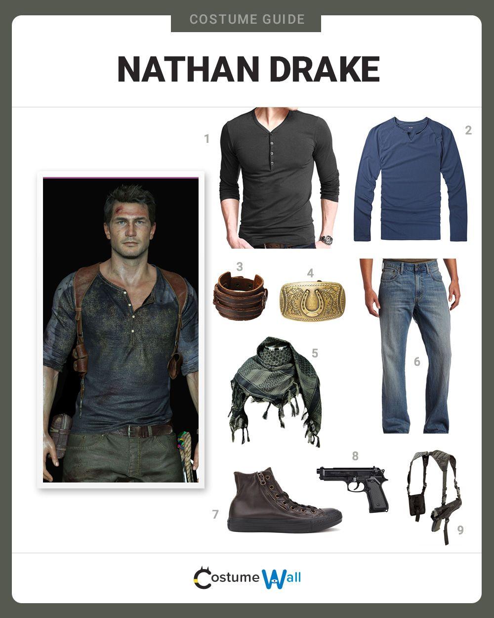 dress like nathan drake nathan drake video games and