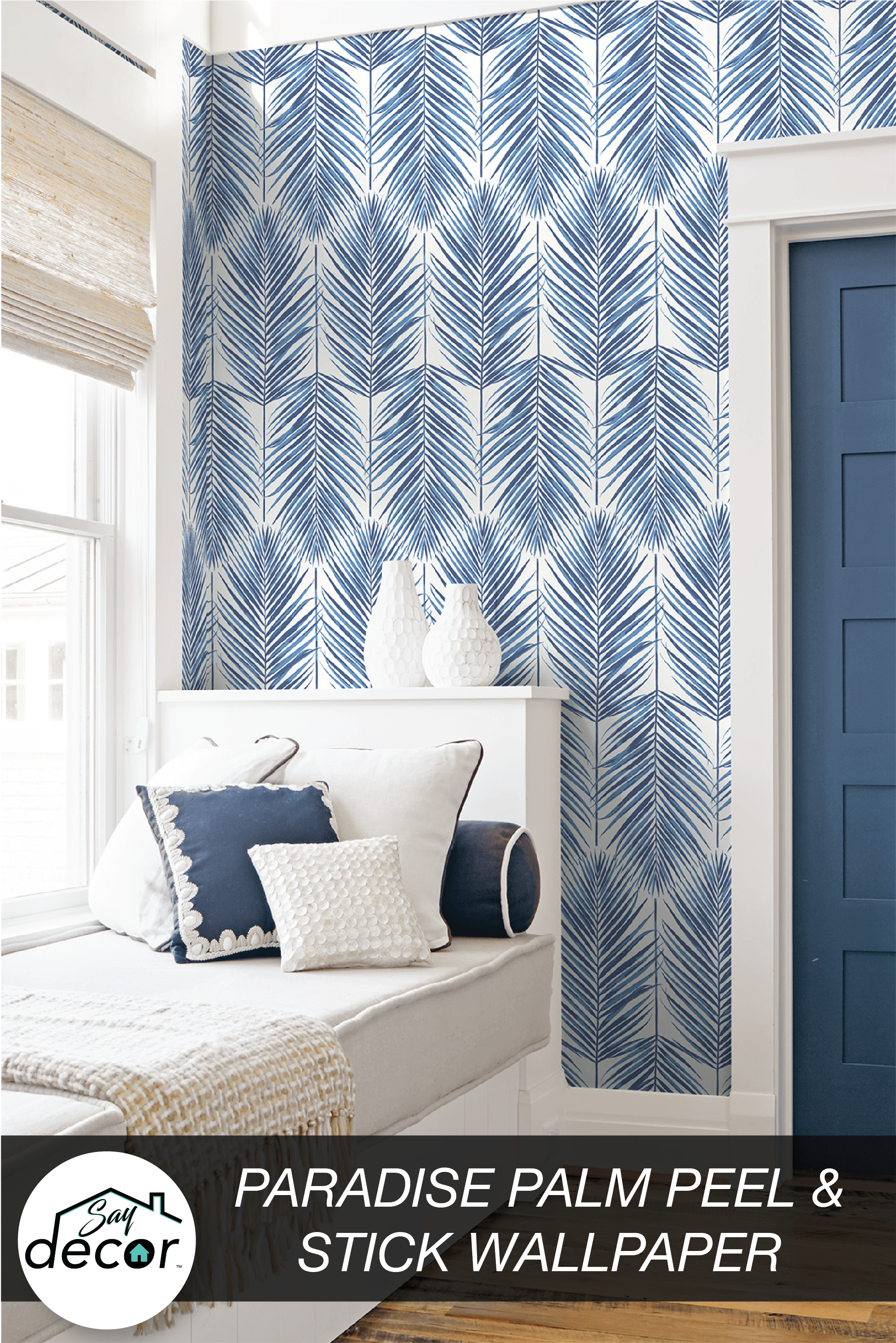 Pin On Peel And Stick Removable Wallpaper Say Decor