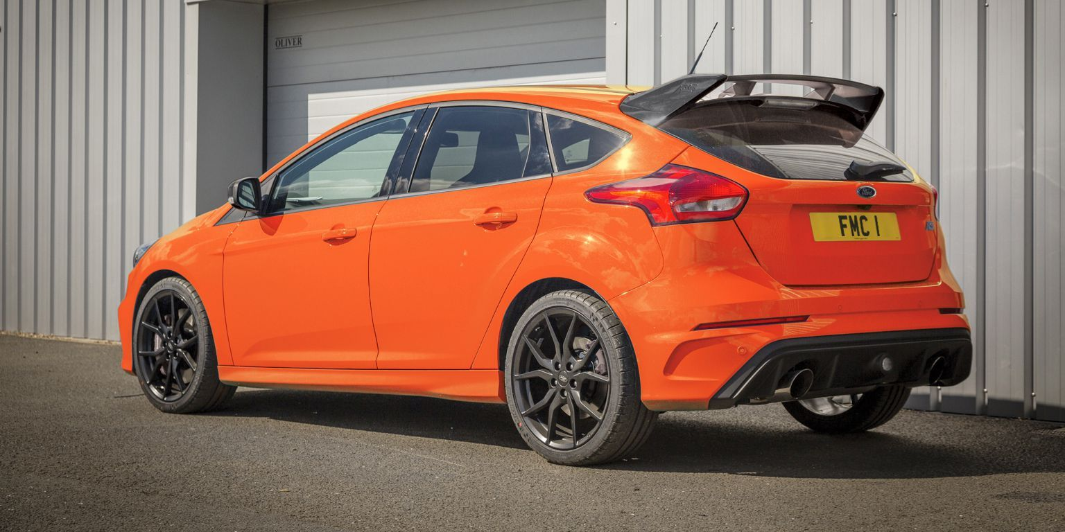The Ford Focus Rs Will End Production In April Ford Focus Rs