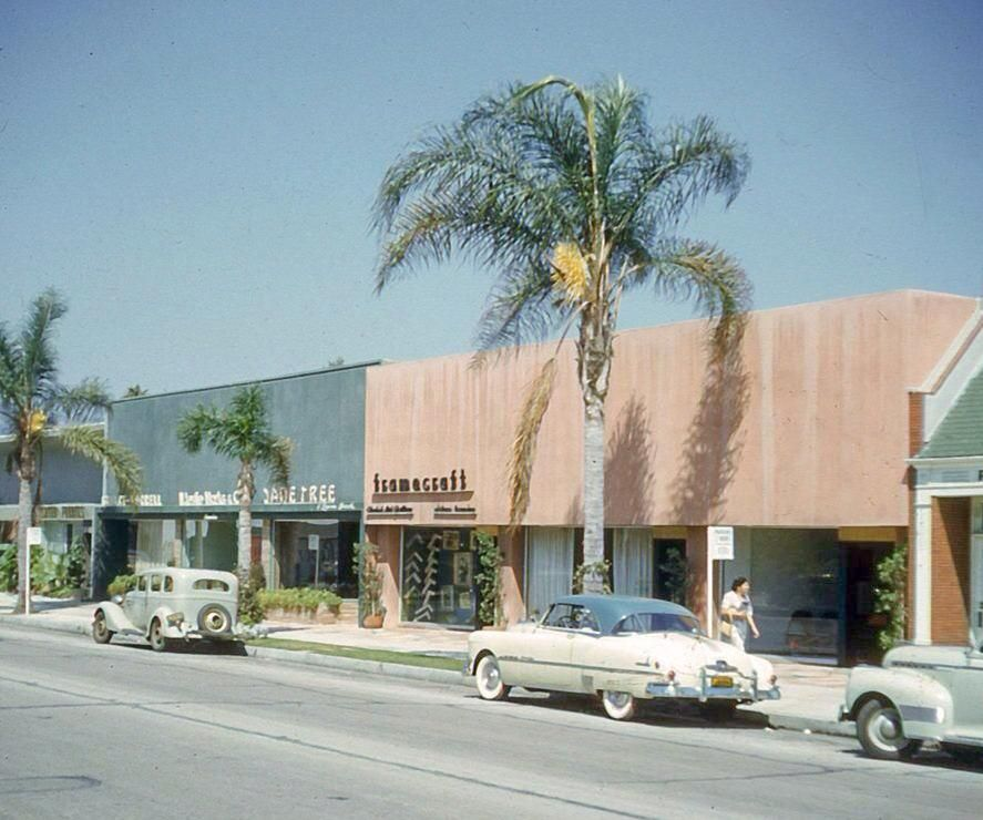 South Robertson Blvd, West Hollywood Circa 1950