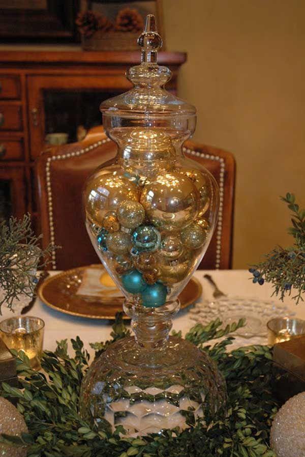 Gold Christmas Decoration Ideas