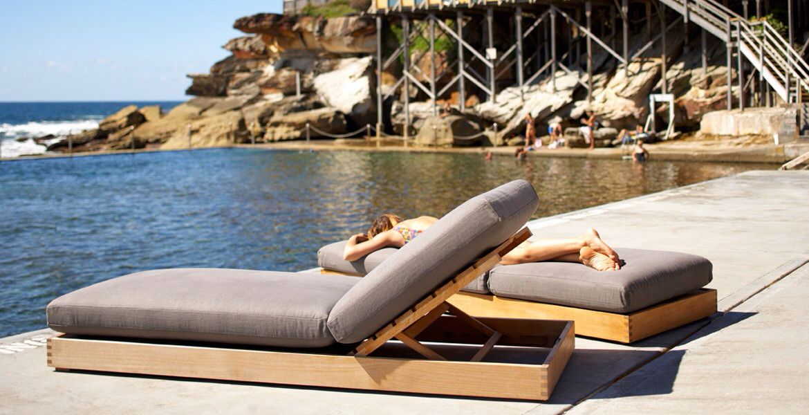 Pool lounge | Outdoor furniture, Outdoor daybed, Outdoor ... on Living Spaces Outdoor Daybed id=49939