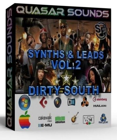 DIRTY SOUTH TRAP SYNTHS VOL 2 Soundfonts SF2 | DIRTY SOUTH SAMPLES