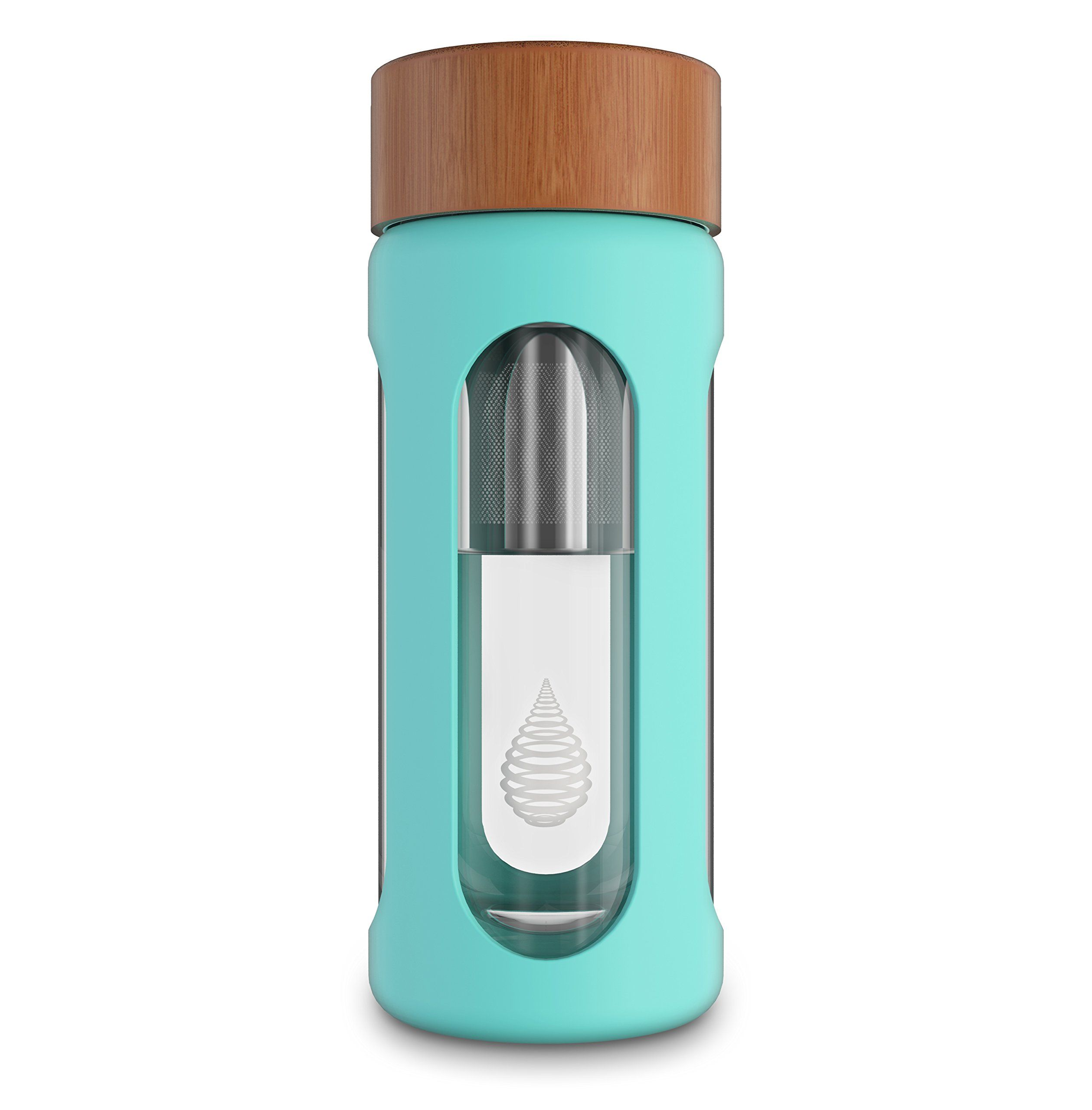 Increase pH pH HYDRATE Glass Alkaline Water Bottle Remove Heavy Metals /& Chlorine 400 ml Water Bottle Filter Portable Filtered Water Bottle Ionizer Reduce Fluoride