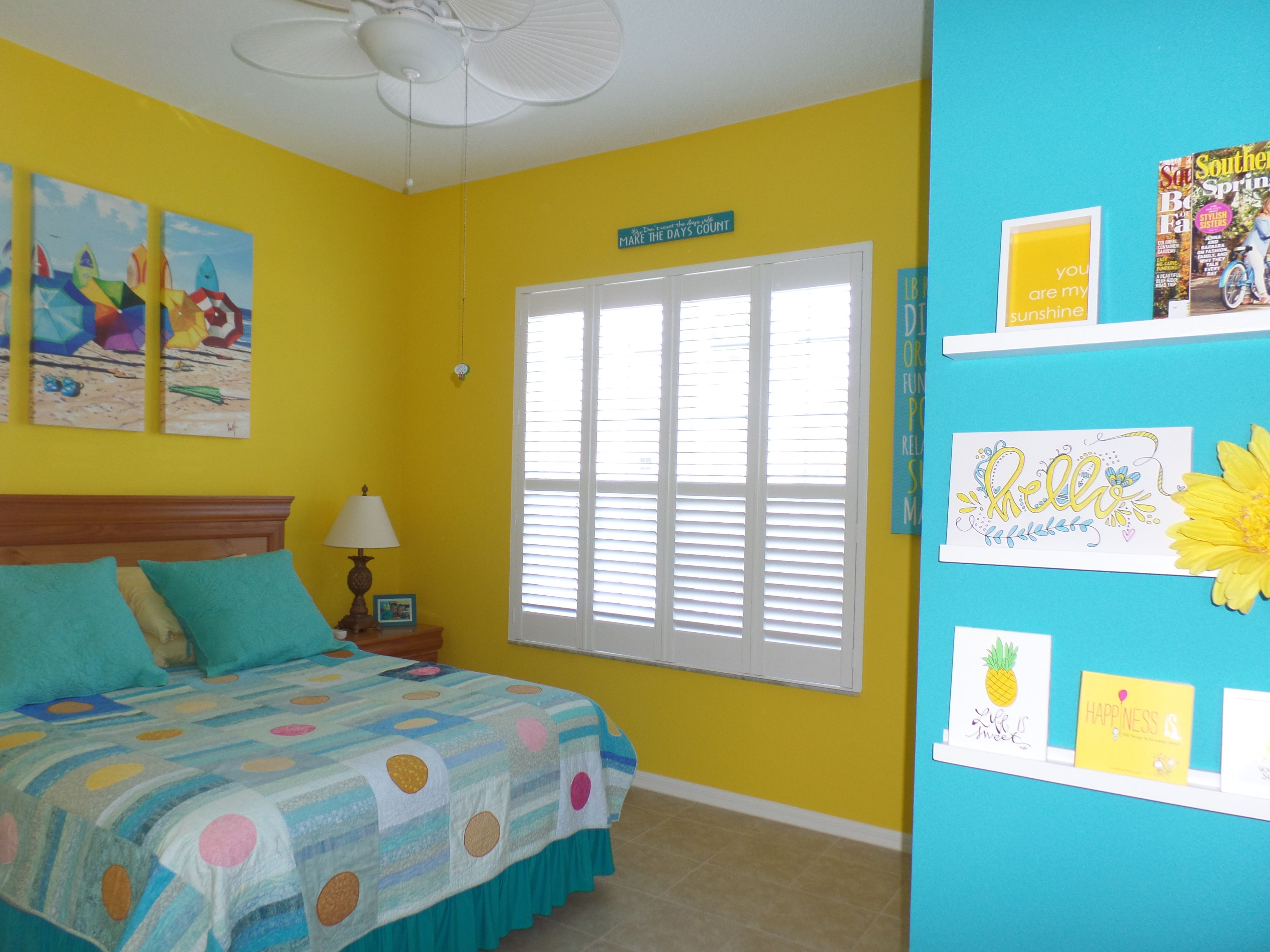 Perfect for Florida! Bright Florida Decor, Paint colors are Sherwin ...