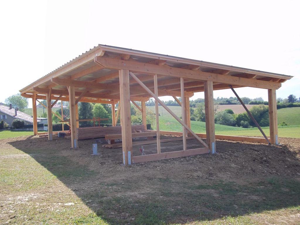 Construction Pergola Bois Plan carports / appentis / pergolas archives - abribois31