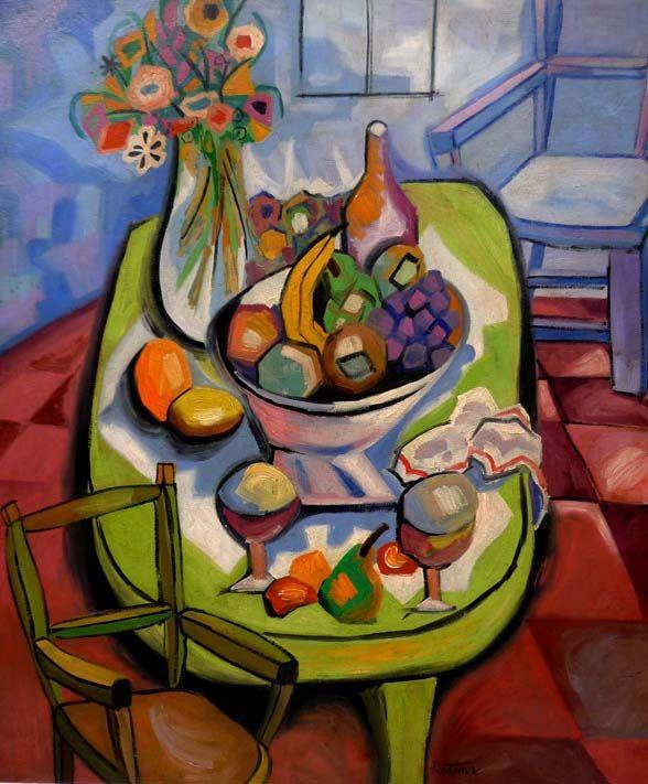 Abraham Rattner Painting Art Inspiration Art