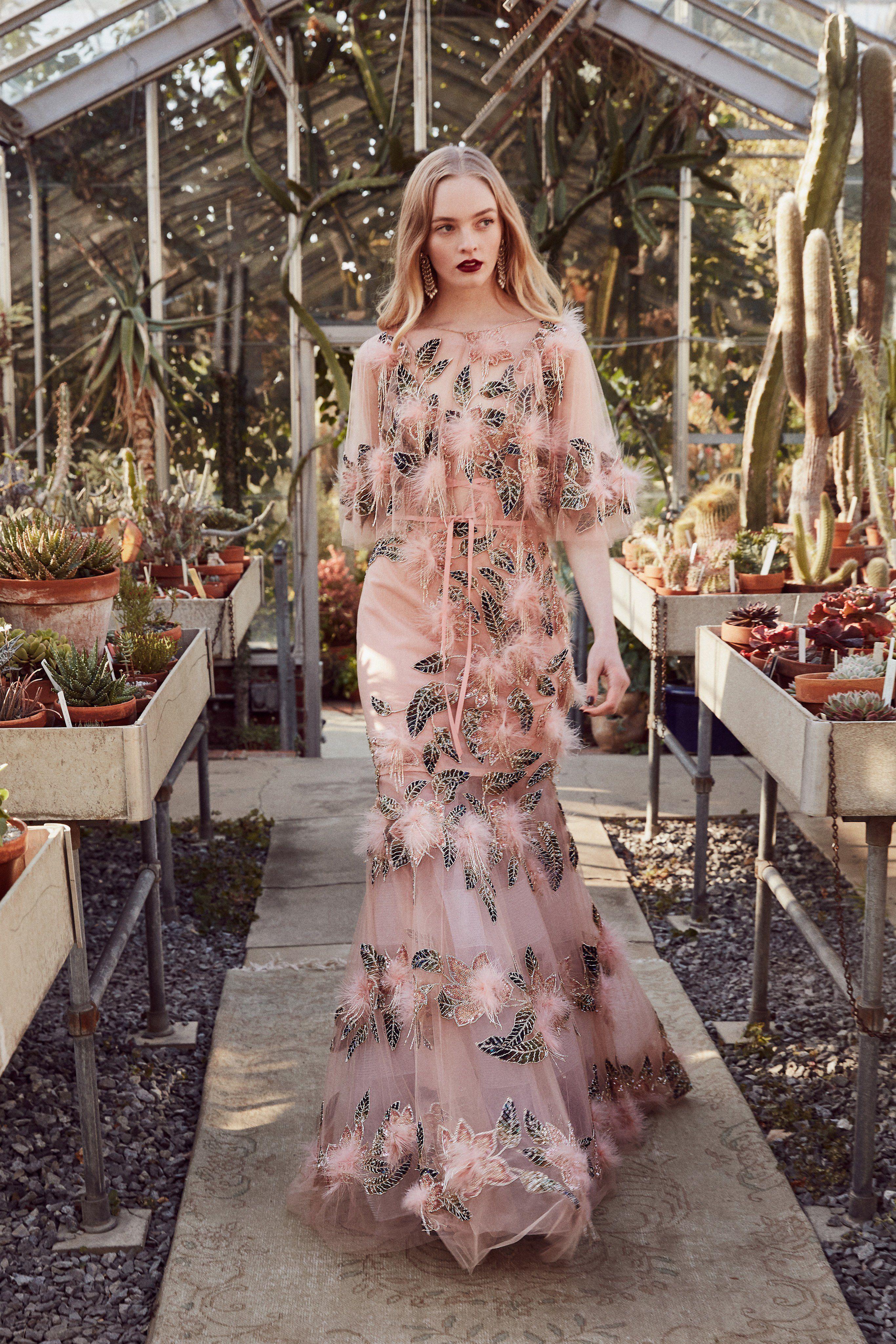 ad5d070e38b Marchesa Pre-Fall 2019 Fashion Show Collection: See the complete Marchesa  Pre-Fall 2019 collection. Look 23