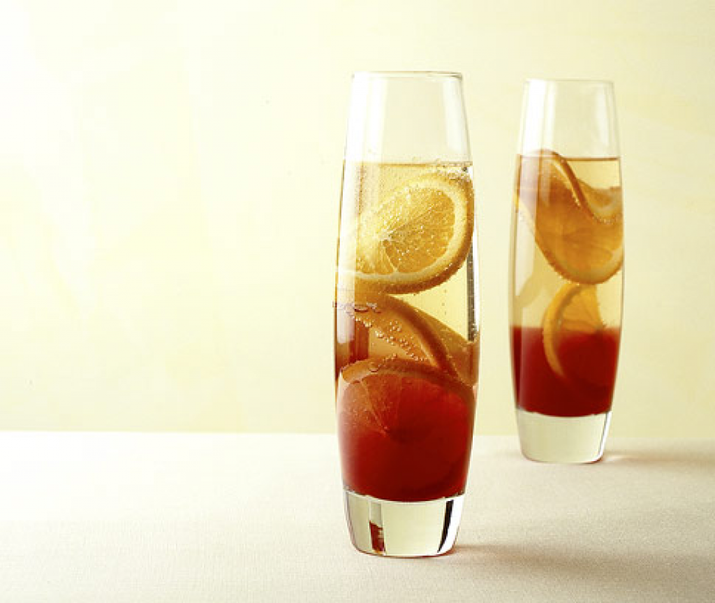 Sekt-Campari-Cocktail | Rezept | Essen | Pinterest | Campari ...