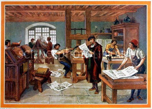 Johannes Gutenberg Inventions