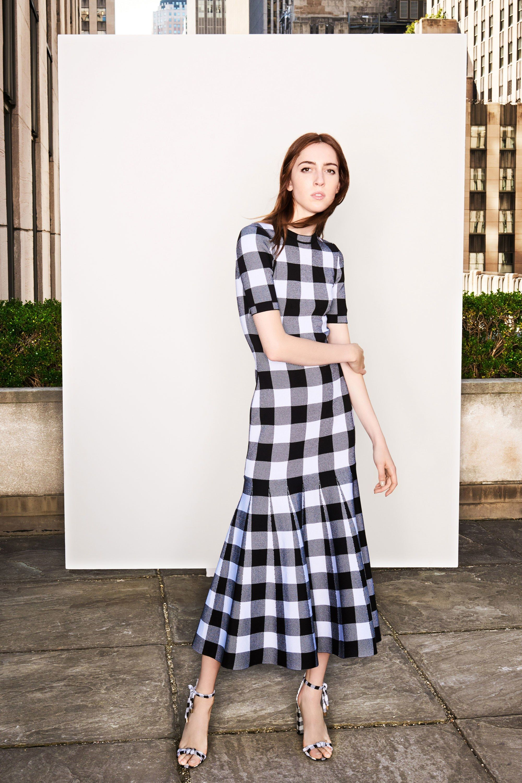 Oscar de la renta white dress 2018