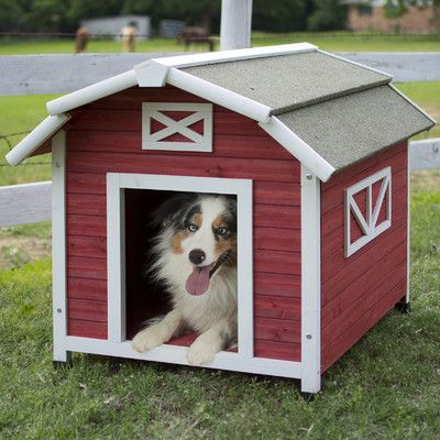 Precision Pet Old Barn Dog House Cool Dog Houses Dog Houses