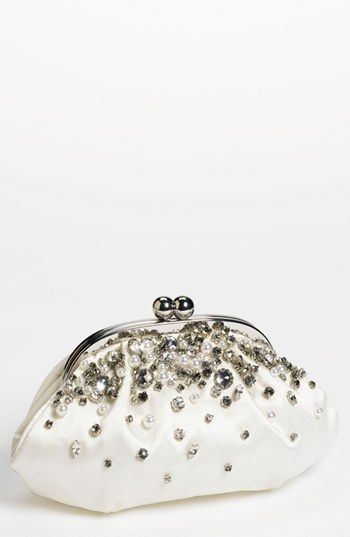 Classic Feel Menbur Vintage Bride Clutch Available At Nordstrom