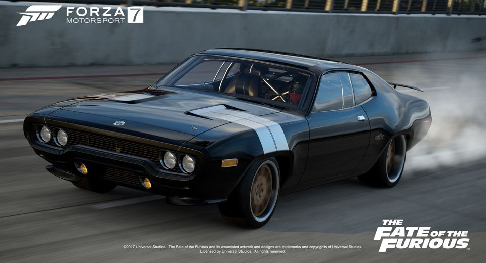 Forza Motorsport 7 Welcomes The Fate Of The Furious Car Pack Com