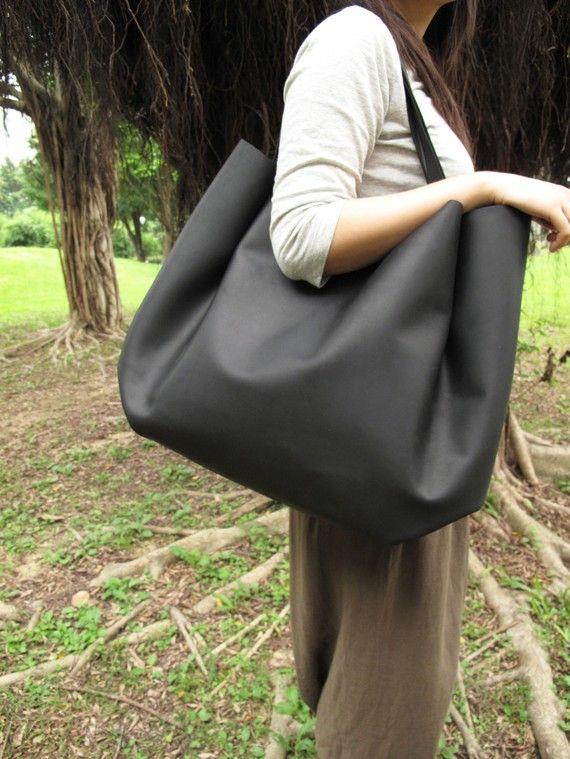 Extra Large Leather Bag