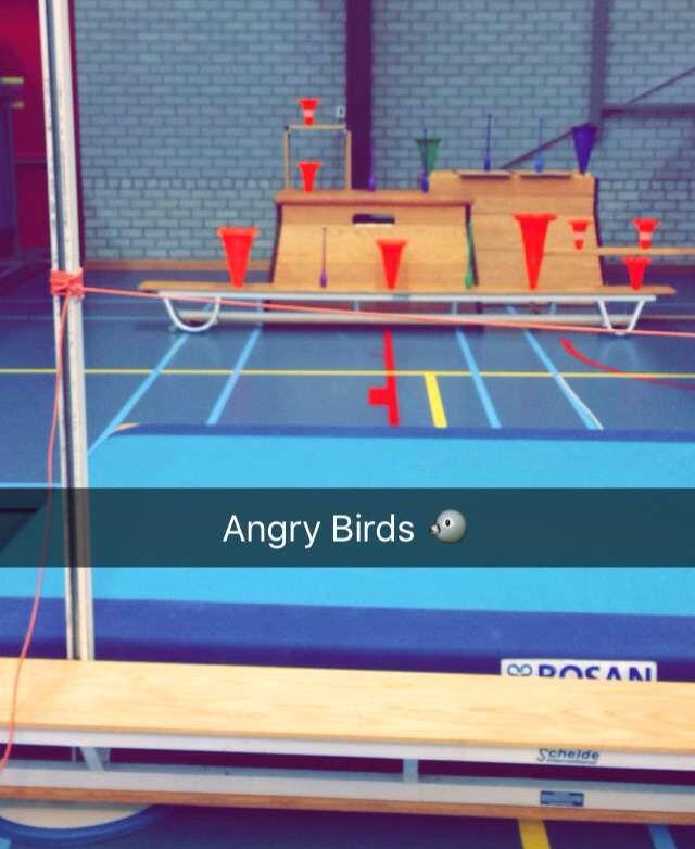 Beroemd Angry Birds | gym | Pinterest - Gym, Gym games en Physical Education @GJ47