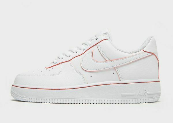 Nike Air Force 1 '07 LV8 - White & Red- Women's/Queens 2.5 ...