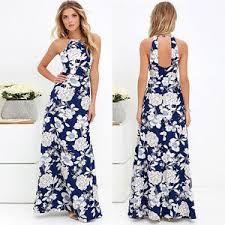 Modelos de vestidos de verano largos