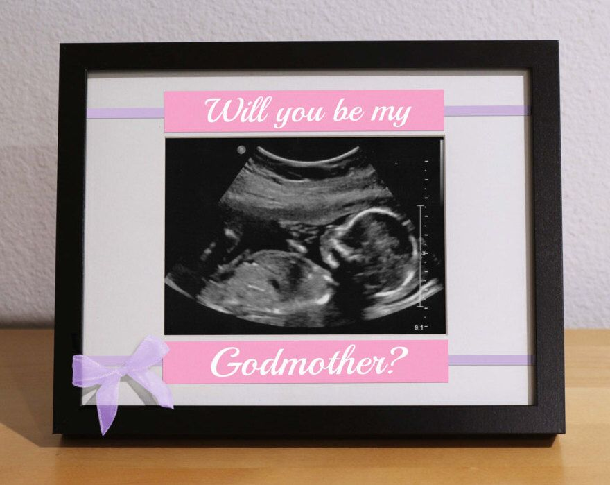 WILL YOU be my GODPARENTS, Godparents Gift, Custom Frame ...