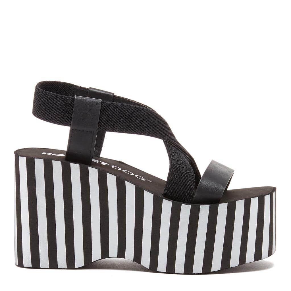 fbfcf7d6c82d Bayer Metallic Stripe Platform Sandal