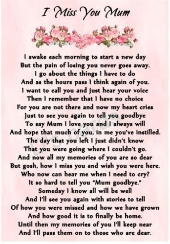 Funeral Poems For Mom From Daughter 7