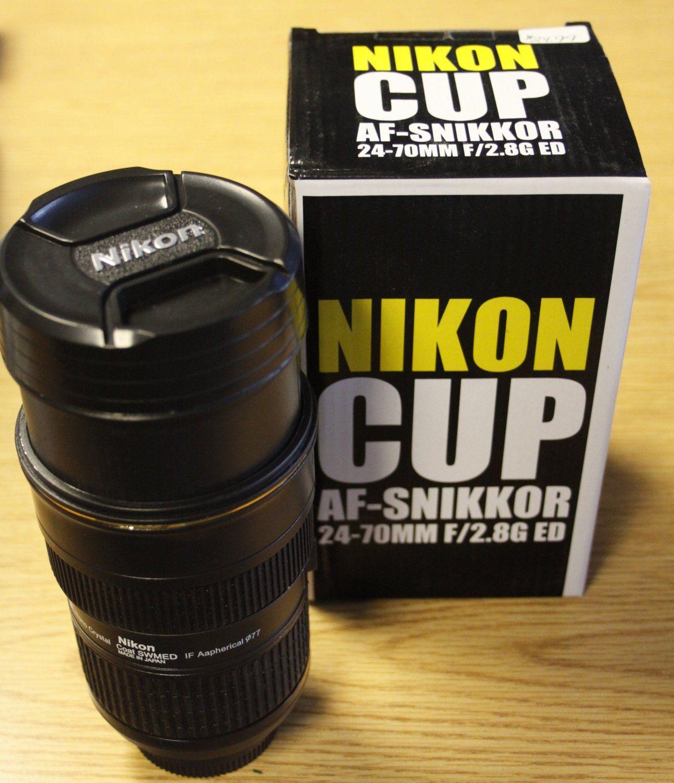 Nikon Coffee Mug 2470 with working ZOOM