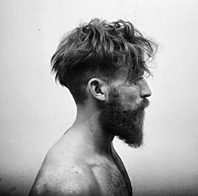 Subtle Effortless Texture Real Gents Androgynous Hair Hair And Beard Styles Beard Hairstyle