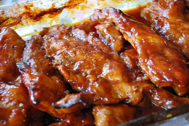 Easy Oven Baked Riblets Recipe Riblets Recipe Pork Riblets Pork Riblets Recipe