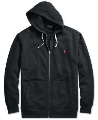 Polo Ralph Lauren Men s Big and Tall Classic Fleece Full Zip Hoodie - Light  Sport Heather 3XLT 10a8ab0eb