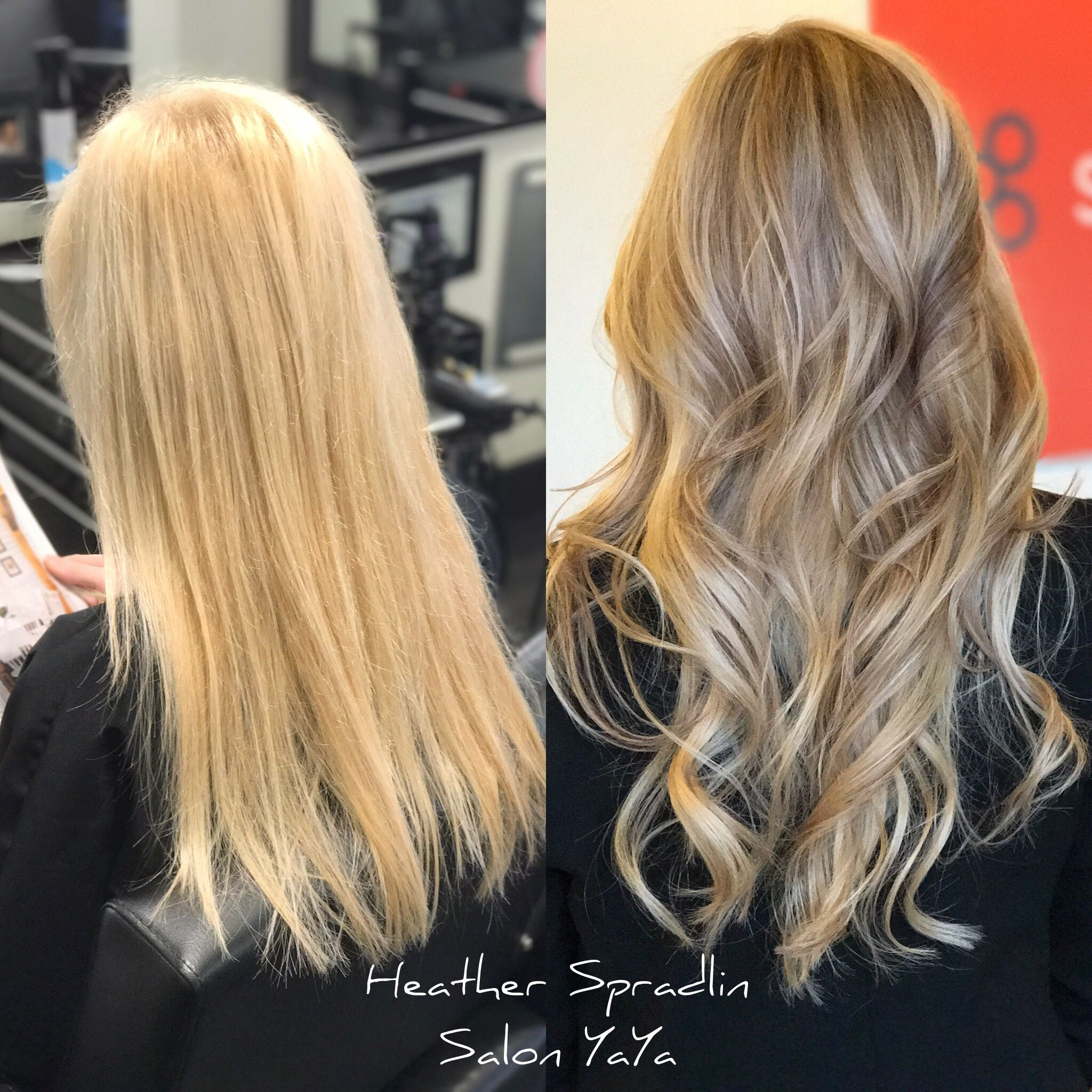 Color Correction From Box Color Blonde Balayage Ashy Blonde