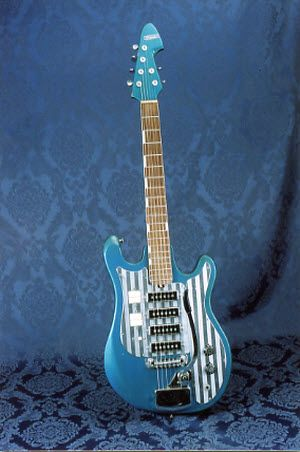 Vintage 1965 Silvertone Teisco 1437 Electric Guitar